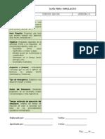 GS-F03 Guía Simulacro- Versión 0