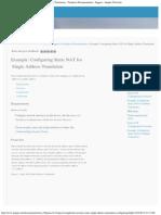 Example_ Configuring Static NAT for Single Address Translation - Technical Docu