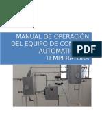 Manual de Operación Del Equipo de Control Automatico de Temperatura (1)