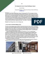 The History of Developments Toward Open Building in Japan