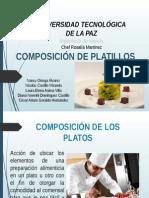 Composicion de Platillos