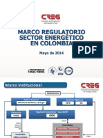 Marco Regulatorio Sector Energia