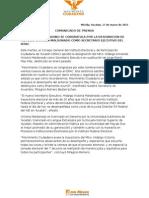 MOVIMIENTO CIUDADANO SE CONGRATULA POR LA DESIGNACION DE HIDALGO VICTORIA MALDONADO COMO SECRETARIO EJECUTIVO DEL IEPAC