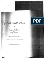 A Little Night Music Libretto