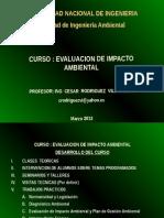 IMPACTO AMBIENTAL-introduccion 2012 uni.ppt