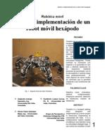 Diseno e Implementacion de Un Robot