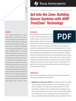 Arm Trust Zone White Paper