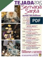 Semana Santa 2015 Cartel