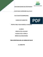 CUÁL ES LA IMPORTANCIA DE LA IMPLEMENTACIÓN DE LA CADENA DE VALOR.docx