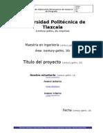 Guia de Elaboracion Del Proyecto de Estancia de Posgrado