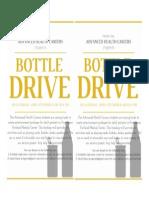 Ah c Bottle Drive Poster