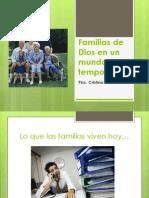 Familias de Dios en Un Mundo Temporal