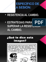 TEMA 5 - Resistencia Al Cambio