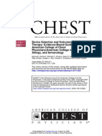Aerosolterapia. Chest, Guidelines ACCP