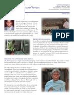 Nations for Jesus Newsletter - Spring 2015