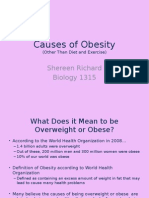 obesity biology term paper power point