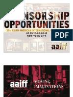 AAIFF12 Sponsorship Package