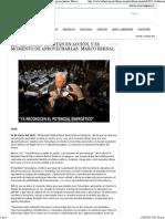 16-03-15 Las Reformas Ya Están en Acción, y Es Momento de Aprovecharlas. Marco Bernal