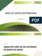 Unidad 1 - Arquitectura de Sistemas de Bases de Datos