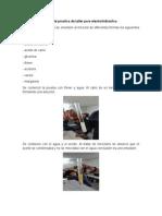 Reporte Practica de Taller Para Electrohidráulica