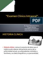 Examen Clinico Intraoral
