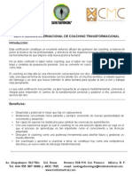 Programa para la Certificación Internacional de Coaching Transformacional