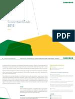 Relatorio de Sustentabilidade 2013 Petrobras
