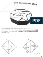 Octagon Origami Box