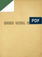 CONGRESO PEDAGOGICO 1889