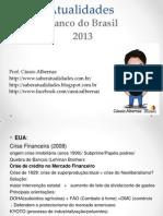 Slides Atualidades Completo Banco Do Brasil