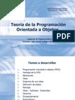 Teoría de La Programación Orientada a Objetos