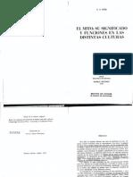 Kirk, G.S. - El mito. Su significado y funciones en las distintas culturas.pdf