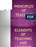 1 Principles of Teaching