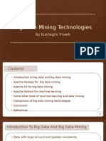 Big Data Mining Technologies Final