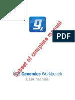 CLC Genomics Workbench User Manual Subset