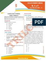 Solucionario del examen de admisión UNMSM 2015 II Letras