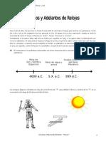 IV Bim - RM - 2do. Año - Guía 1 - Atrasos y Adelantos de Rel