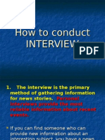 How to Conduct Interview