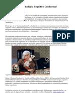 Fundamentos De Sicologia Cognitivo Conductual