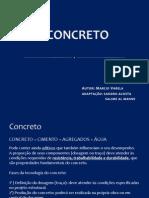 Aula 04 Concreto