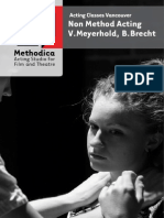 Acting Classes - Meyerhold & Brecht