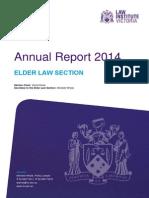 309.Carole Ainio Law Institute of Victoria Annual Report 2014 Elder Law Section