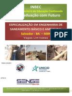Engenharia de Saneamento Básico e Ambiental 400h Inbec Ba 2