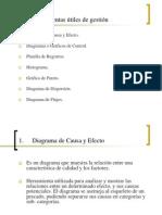 Herramientas de gestion, evaluación de proyectos