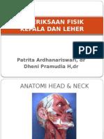 Pemeriksaan Fisik Kepala Leher