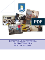 Perfil do professor em Timor Leste
