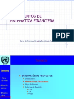 Fundamentos Matematica Financiera