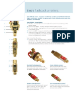 12381 FBA Flash back arrestor