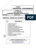 Banking and Financial Awareness.