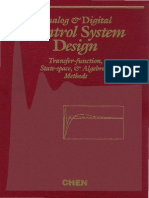 Analog and Digital Control System Design - Chen